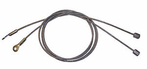 1999-2004 Ford Mustang GT Cobra convertible top side tension hold down cables