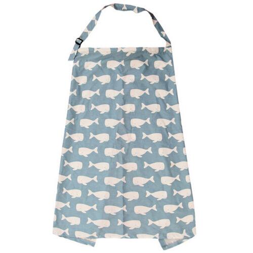 Mum Breastfeeding Cover Shawl Nursing Privacy Top Baby Feeding Scarf Blanket UK