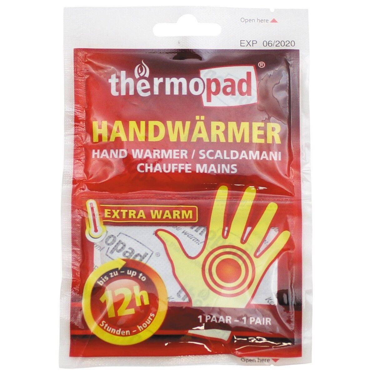 MFH 30 Handwärmer Thermopad für Einmalgebrauch 8h Taschenwärmer Wärmekissen