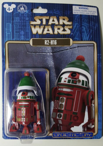 R2-H16 disney parks exclusive build a droid bad CHRISTMAS star wars figure NEW