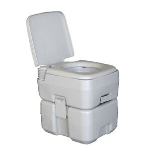 Camping Camper Motorhome Toilet 20L 5 Gallon WC Chemical Porta Potti ...