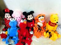 Baby Toddler Walking Safety Harness Rein Mickey Minni winnie the pooh ELMO