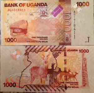 UGANDA-2010-1000-SHILLINGS-UNCIRCULATED-BANKNOTE-P-49-BUY-FROM-A-USA-SELLER