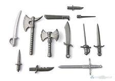 Brickarms Blade set di armi, Custom spade Sciabole asce per LEGO ® figure