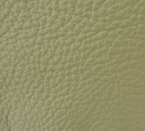 Leder Rindnappaleder Stücke Zuschnitte Pastellgrün Grün hell verschiedene Größen