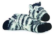 Aurora Zany Zebra 20cm Mini Flopsie Plush. Included