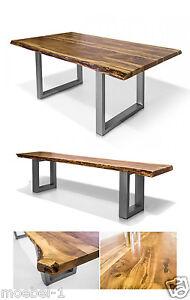 Tisch-Esstisch-od-Bank-Sitzbank-DALIN-Massivholztisch-Esszimmer-Akazie-massiv