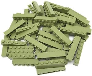 Lego 100 New Dark Green Bricks 1 x 2 Stud Building Blocks Pieces
