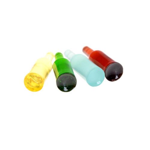 set 1:12 puppenhaus miniatur puppenhaus zubehör mini weinflaschen MA 6X