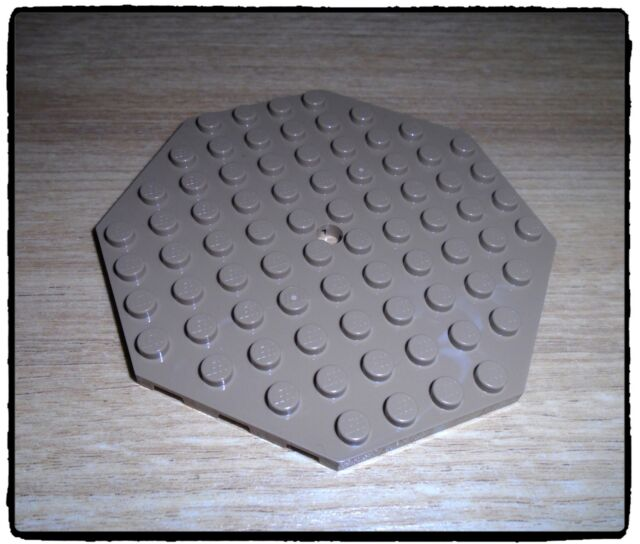 LEGO 89523 Plate Without Corners, 10 x 10 Stud, Dark Tan x1
