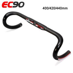 EC90-Road-Bike-Handlebar-Full-Carbon-Fiber-Bicycle-Drop-Bar-31-8-400-420-440mm