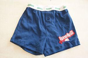 Boxer-bleu-neuf-3-4-ans-marque-Zippy