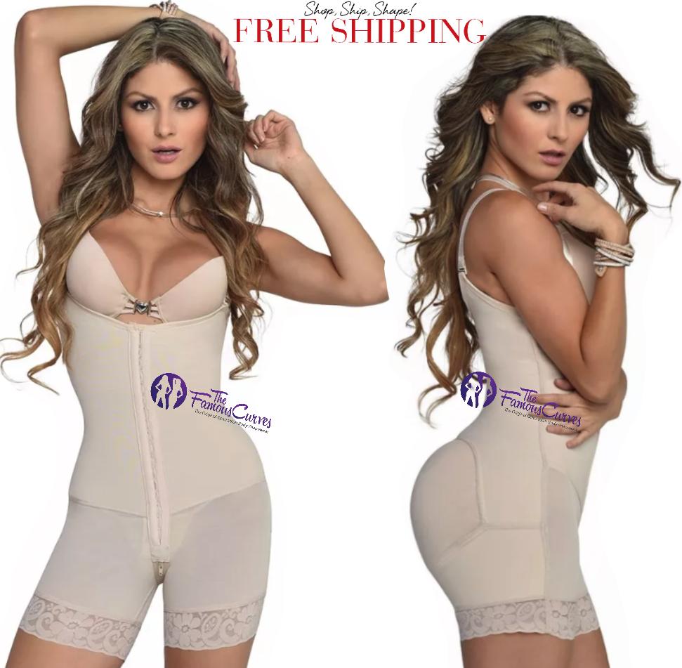 Para mujer Fajate fajas Post Quirurgicas colombianas levanta cola cola cola Faja Powernet e3f012