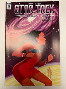 IDW STAR TREK : BOLDLY GO #17 RI-B COVER : NM CONDITION : RARE!
