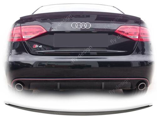 Audi a4 Tuning b8 8k Berline S LINE s4 Type Spoiler Heckspoiler NEUF lip Becquet
