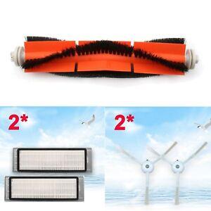 2 Main Bürste 3 Side Brushes 3 Filter Für Xiaomi Mi Robot Vacuum Staubsauger
