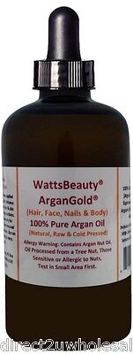 Other Hair Care & Styling Cold Pressed Argan Oil Sales Of Quality Assurance Earnest Watts Beauty Argangoldtm 100% Pure Raw