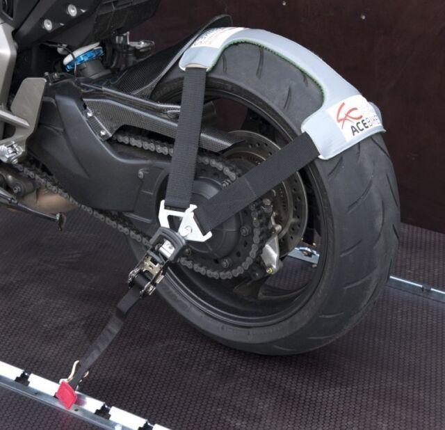 ACEBIKES TYRE FIX Tyrefix Spanngurt - Reifendecke für Moto Guzzi MV Agusta MZ