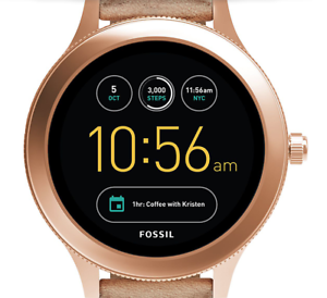 4e06c5f5cefe3 Image is loading Fossil-Q-Venture-Gen3-Touch-Screen-RoseGold-Stainless-