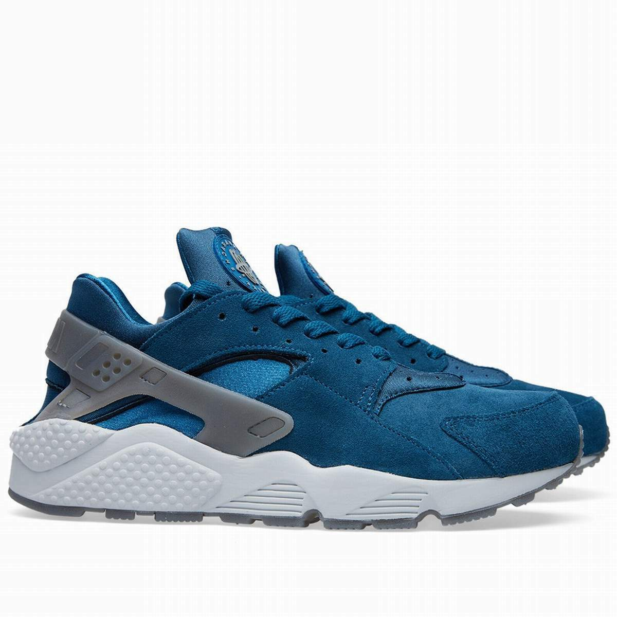 2018 Exclusive Nike Air Huarache Bleu Obliger & Cool Tailles  Gris  All Tailles Cool 0cbfbb
