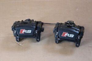 Audi RS4 8W RS5 Mordaza de Freno Sillín Pastilla Negro 8W0615405AP 8W0615406AP