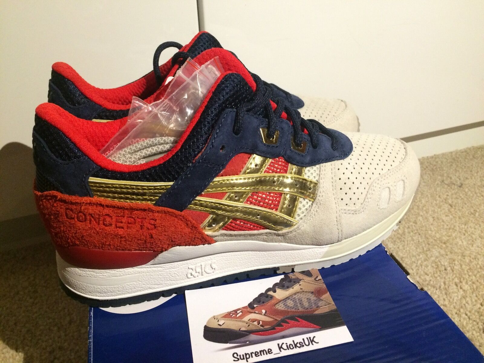 Asics x Concept GL3 'Boston Tea Party' UK5/US6