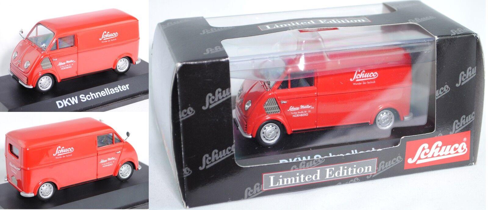Schuco 02396 DKW-rapidement astre F 800 enré voiture 1 43 Limited Edition
