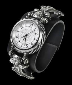 Alchemy-Wikinger-Armbanduhr-Thorgud-Ulvhammer-Fantasy-Uhr-Armschmuck