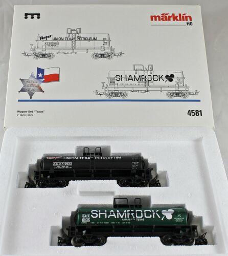"""Märklin 4581 Wagen-Set /""""Texas 3/"""" aus Sammlung mit OVP A"""