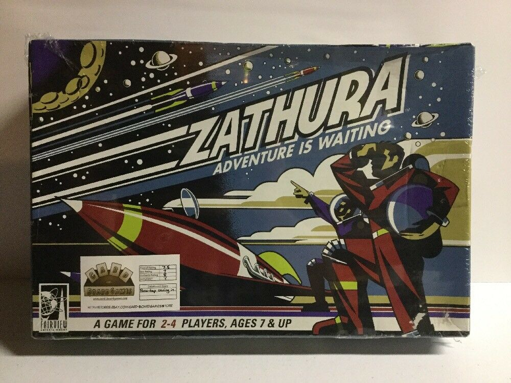 2005 Zathura Adventure is Waiting board game Complete  Pressman Fairfield