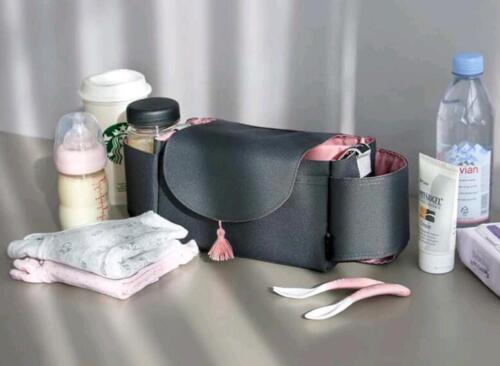 Infant Nappy Diaper Feeding Bottle Bag Baby Stroller Organizer Storage Mummy Bag
