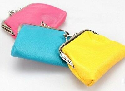 Kleine Geldbörse versch. Farben bunt Tasche bunt Geldbeutel Portmonee PU Leder