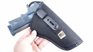 Browning Hi Power   IWB Conceal Shirt Tuck Holster w/ Sweat Guard. MADE IN USA
