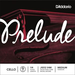 D039Addario Prelude Cello G String 14 Scale Medium Tension - Newark, United Kingdom - D039Addario Prelude Cello G String 14 Scale Medium Tension - Newark, United Kingdom