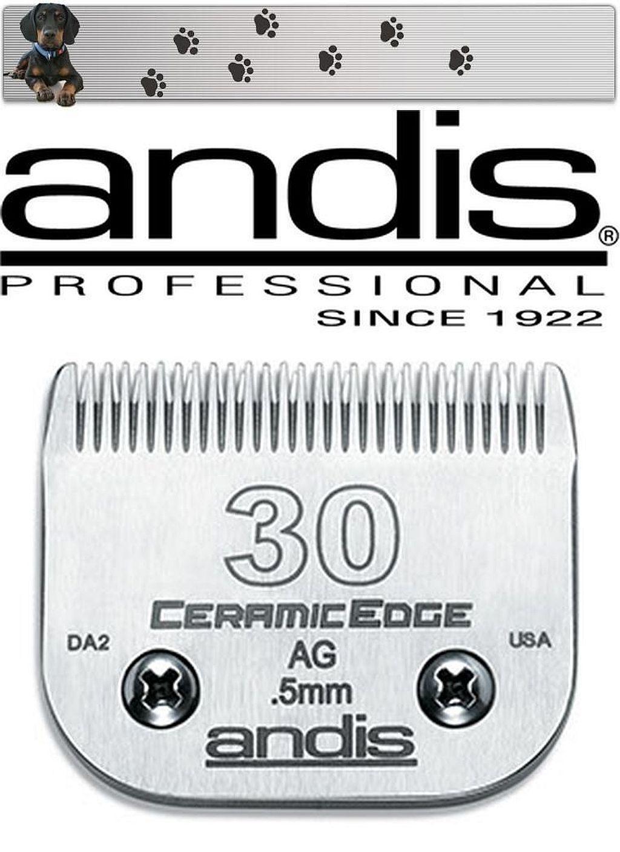ANDIS Cerámica Edge Cabezal Tamaño 30 0,5mm Aesculap - Moser - Elección - Oster