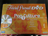2005 PARKER BROTHERS TRIVIAL PURSUIT DVD POP CULTURE 2 BOARD GAME PARTS SEALED