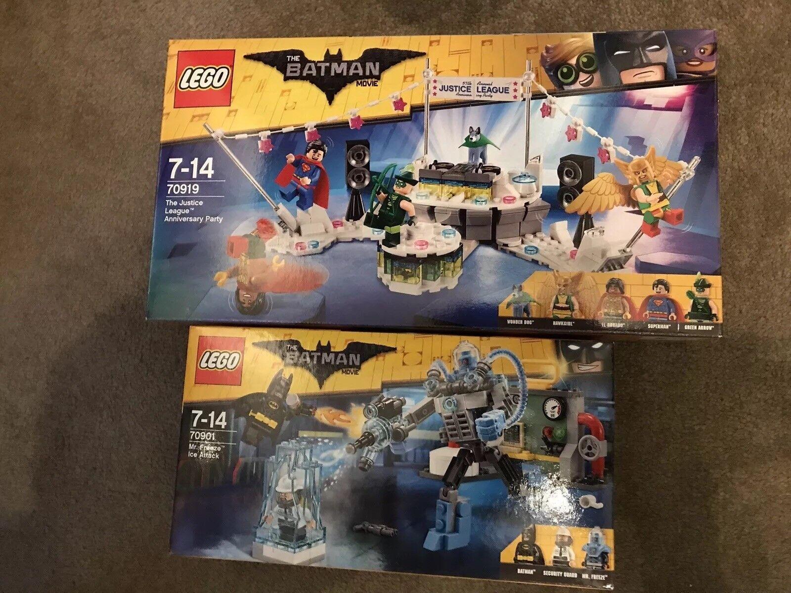 Lego Batman The Movie Bundle 70919 And 70901 BRAND NEw