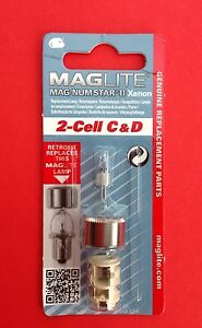 MagLite 5 Cell C /& D Magnum Star Flashlight Torch Bulb Replacement
