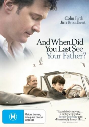 1 of 1 - And When Did You Last See Your Father? (DVD, 2008)