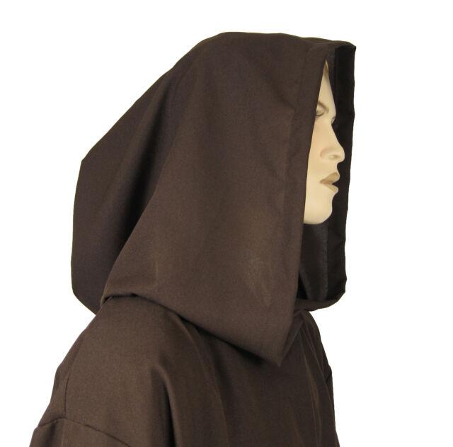 JEDI Obi Wan Wizard Costume CLOAK MONK adult Robe Brown