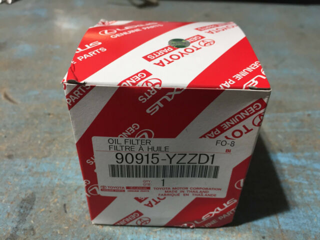 New Toyota Oil Filter 90915-YZZD1