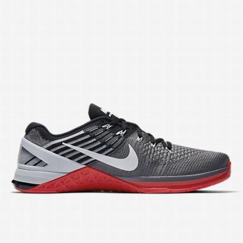 Eur Grey Red New 002 852930 46 University Uk Dark Nike Metcon Dsx Flyknit 11 2IWEDH9