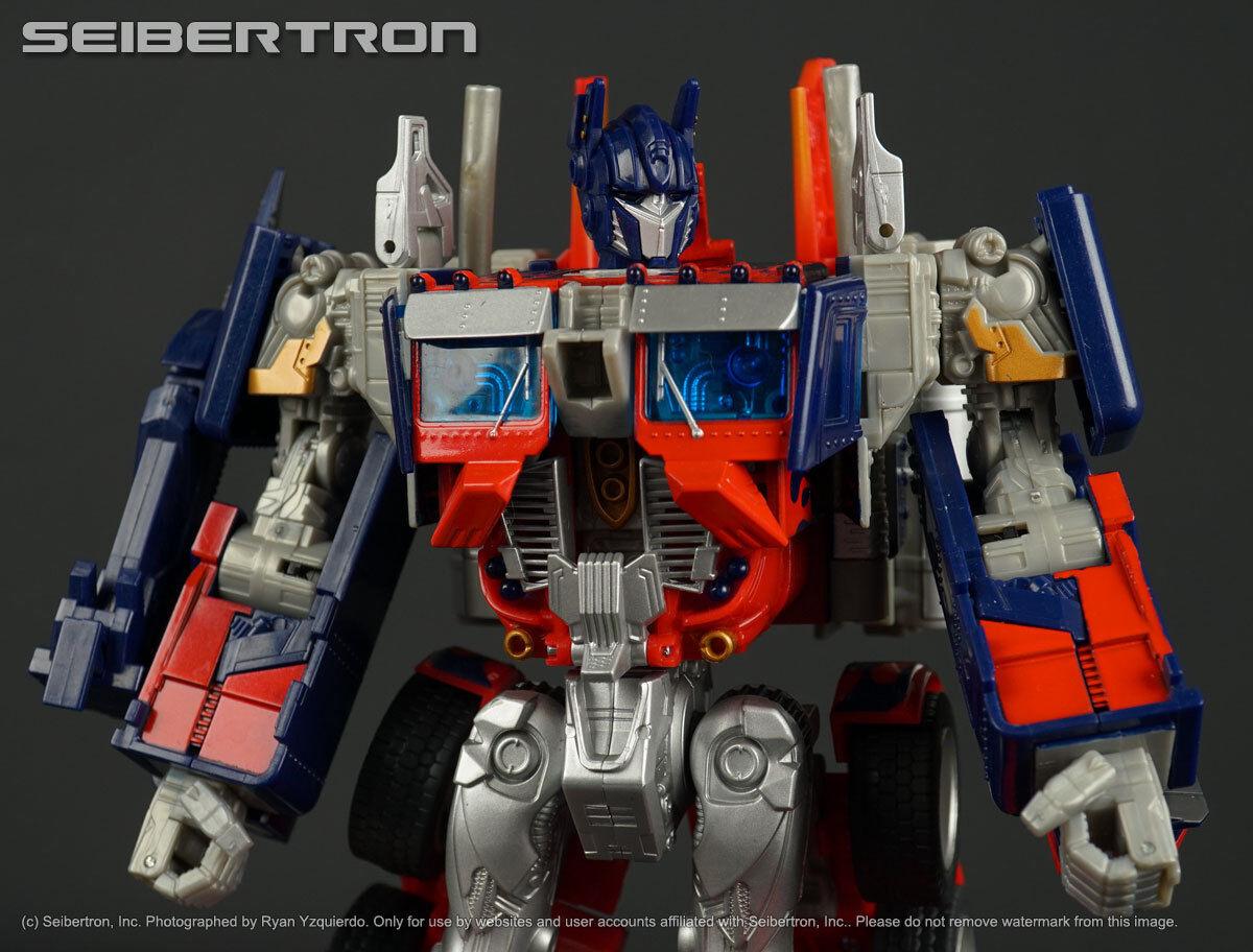 Premium Serie Optimus Prime Transformers Película líder 100% completo 2008 Hasbro