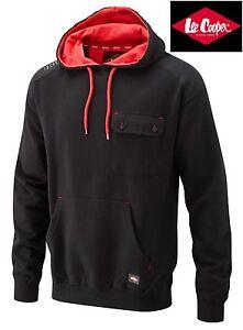 Lee Cooper Mens Full Zipped Hoody Hooded Sweatshirt size S M L XL XXL RRP £39.99