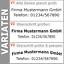 Indexbild 3 - 2-Zeilen-Aufkleber-Beschriftung-30-180cm-Werbung-Sticker-Werbebeschriftung-Auto