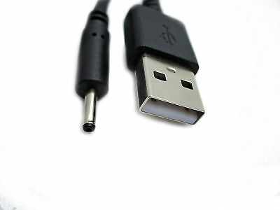 2m Usb Black Charger Cable For Babymoov Babyphone Visio Care Vbc39 A014408