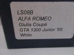LOOKSMART 1/43 ALFA ROMEO GIULIA COUPE' GTA 1300 JUNIOR 1968 BUILT MODEL LS08B