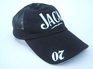21ee3b2d Jack Daniels 07 Old No 7 Brand Hat Black Snapback Trucker Cap   eBay