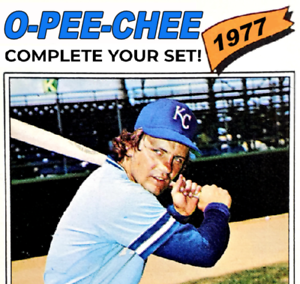 1977 O-Pee-Chee (OPC) Baseball Cards | NM+ | Complete Your Set | You Pick!