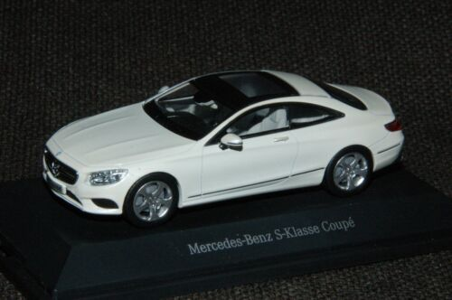 Kyosho Mercedes-Benz S-Klasse Coupé C217 diamantweiss metallic BRIGHT M1:43 PC